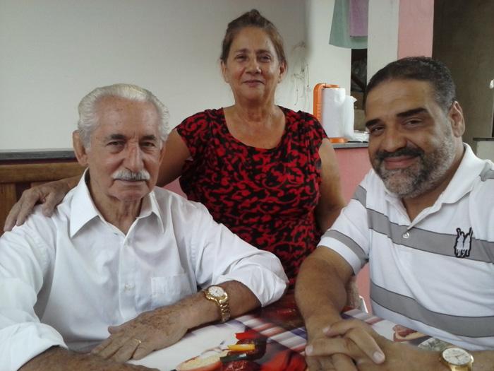 Visita ao casal miss José Soares e Isabel - Coronel Fabriciano MG